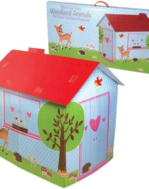 Rex Woodland Animals Playhouse Cardboard