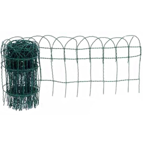 Apollo gardens Ltd Border Fence green plastic covered wire 250mmx10m