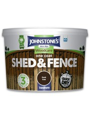 One Coat Shed And Fence 9L Dark Oak