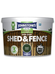 One Coat Shed And Fence 9L Forest Green