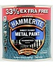 Hammerite (Akzo Nobel) Hammerite Black 750ml + 33% Hammered