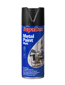 Spray Paint  400ml  Black Matt Metal