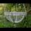 Metal Hanging basket, rustic