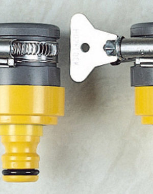 Hozelock Universal Round Tap Connector