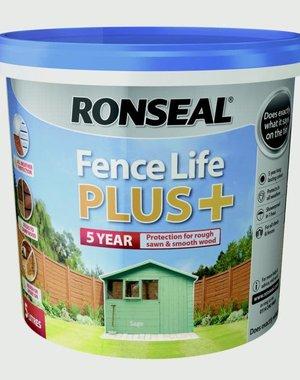 Ronseal Fence Life Plus 5L Sage