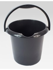 WhiteFurze Black Bucket 5L