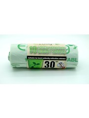 Ecobag Compostable Caddy Liners 30L