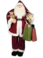 Premier Santa with gifts 1.8m