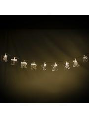 LED Alphabet String 190cm string lights