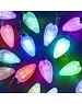 Snowtime Multi pinecone LED 40 colour change