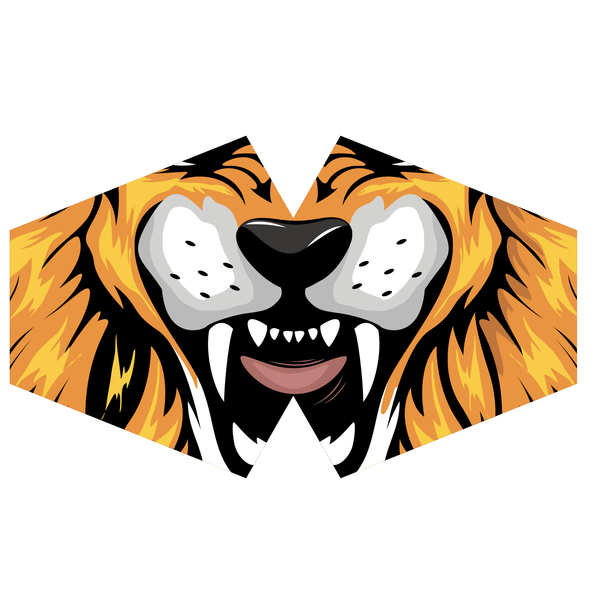 Ancient Wisdom Tiger Children's Mask