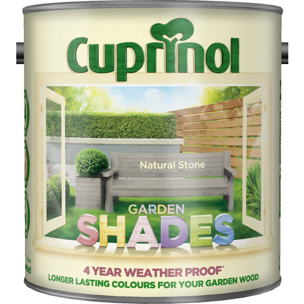 Cuprinol Natural Stone Cuprinol Garden Shades 2.5L