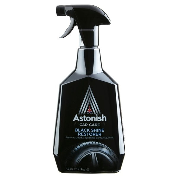 Astonish Black Shine Restorer Car Care