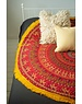 Ian Snow Round Mandala Throw