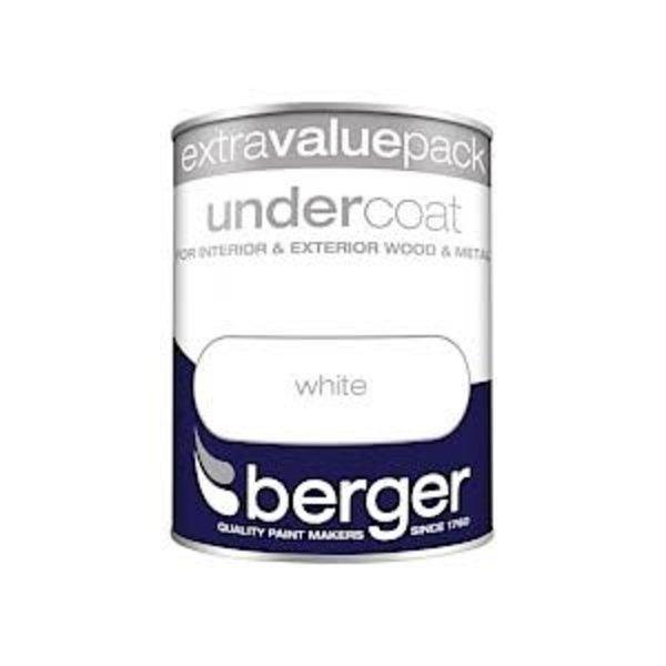 Berger Undercoat 1.25L Pure Brilliant White PBW