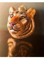 Bibelot Bee Tiger Face Bauble