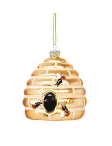Sass & Belle Beehive Glass Bauble