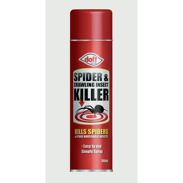 Doff Portland LTD. Spider & Crawling Insect Killer 300ml
