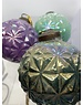 Ian Snow Glass Lustre Bauble Assorted Colours