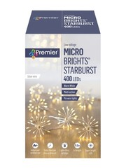 Premier 20 400 LED Multi Action Starburst Stringlights Warm White