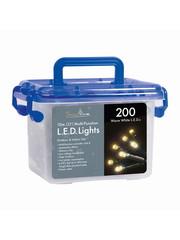 Snowtime 200 Multi function LED Lights - Warm White