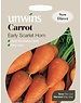 Unwins Carrot - Early Scarlet Horn