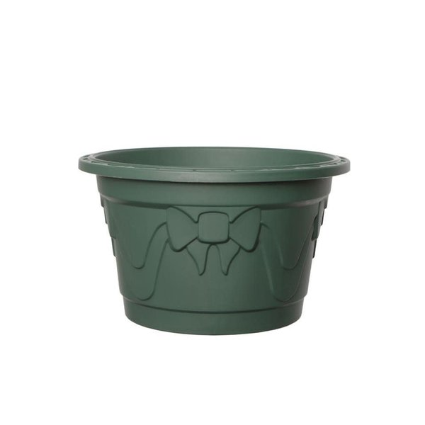 WhiteFurze Real Christmas Tree Stand Green Tub