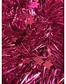 Tinsel Star garland Shiny 4ply 100mmx2.7m -Magenta