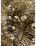 Tinsel Star garland Shiny 4ply 100mmx2.7m -light gold