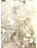 Tinsel Star garland Shiny 4ply 100mm x 2.7m - white