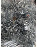 Tinsel Star garland Shiny 4ply 100mm x 2.7m  - silver