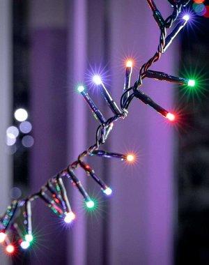 LED Compact Twinkle 1500 Multi Coloured - 1 set 1 tree 300-450cm