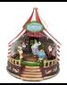 Animated Lit Christmas Circus Display
