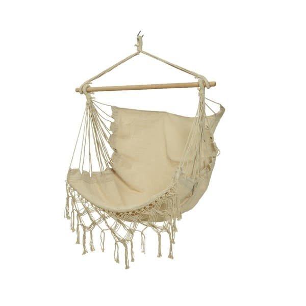 Decoris Hanging Hammock Chair Cream