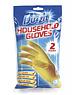 Duzzit Rubber Gloves Medium 2 pair pack