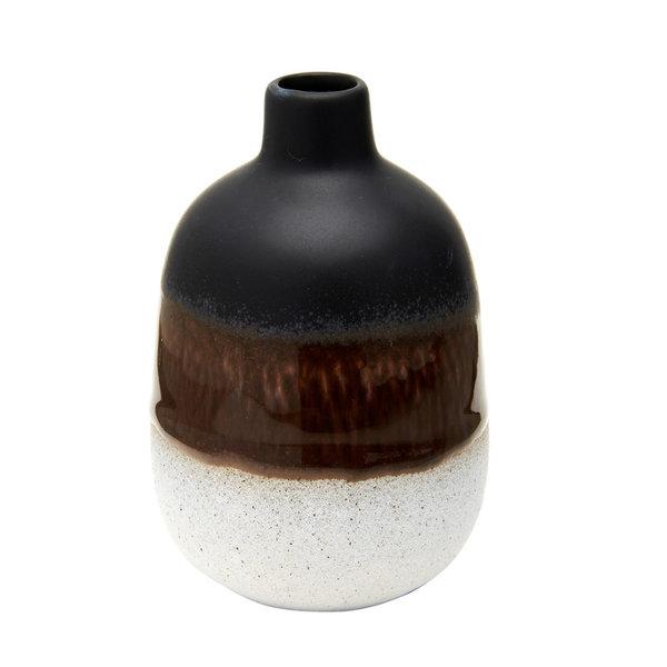 Sass & Belle Black Mojave Vase