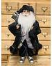 Premier Decs Santa With Black Velvet Coat