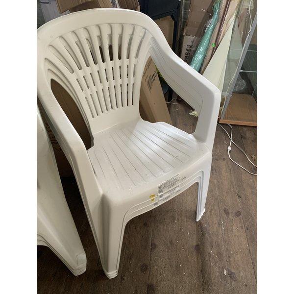 SupaGarden White Resin Chair