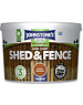 One Coat Shed And Fence 9L Golden Chestnut