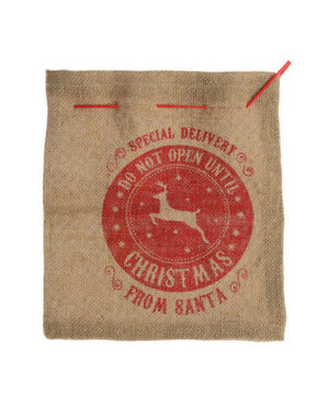 Jute Giftbag Special delivery