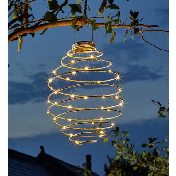 Lumineo Black Wire Solar Bee Hive Light