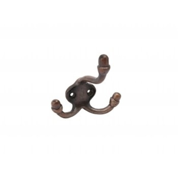 Bronze Mini Triple Wall Hook