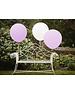 White & Pink Balloon