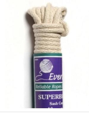 Everlasto Everlasto No.8 Superbraid Sash Cord 10m