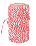 Fallen Fruits Red and White Twine 100m