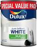 Dulux (Akzo Nobel) Emulsion Pure Brilliant White (PBW) 3L silk