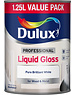 Dulux (Akzo Nobel) Professional Liquid Gloss 1.25L Pure Brilliant White