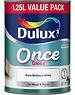 Dulux (Akzo Nobel) Once Gloss 1.25L Pure Brilliant White