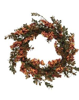 Decoris Wreath With Autumn Berries