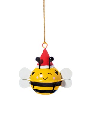 Sass & Belle Bee Hanging Bell Decoration